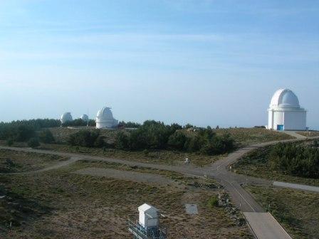 TELESCOPIO NUEVO PARA CALAR ALTO